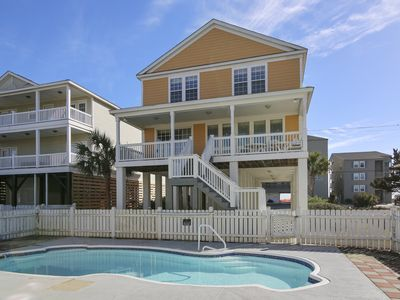 Photo for Nightly Stays Aug-Sept* FREE LINENS** 2nd Row, Ocean View, Private Pool