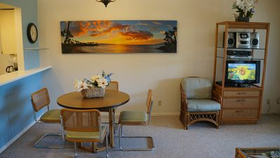Dinning and living area are great!
