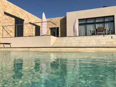Photo for Villa air-conditioned 3 rooms 2 SDB superb private swimming pool seen on the ospédale