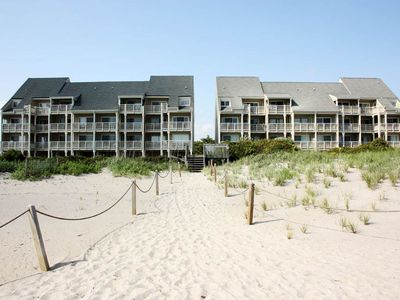 Photo for Tranquility2: 3 BR / 2 BA condo in Caswell Beach, Sleeps 6