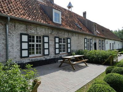 Photo for Authentic, historic farm complex in polder near Damme, in front of a 18-hole golf course