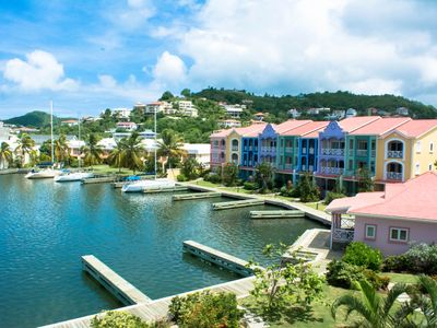 Photo for Water-Front Large 4-Bedroom, The Harbour, Rodney Bay