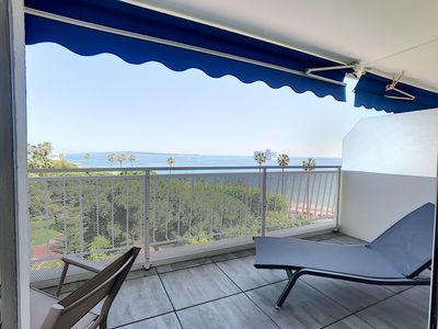 Photo for 245L SCA - Beautiful terrace just steps from the beaches