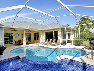 Photo for Luxurious All Ensuite Home With Gulf Access, Pool/Huge Hot Tub + Pool Table
