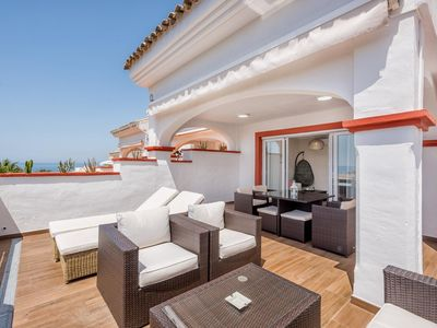 Photo for Marbella Playa -Lux. Beachfront Penthouse, Stunning Sea Views