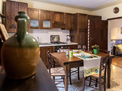 Photo for In the heart of Tuscany with panoramic views
