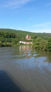 Photo for Directly on the Neckar located apartment with castle view, 12km from Heidelberg