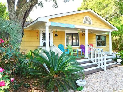 Photo for Mellow Yellow - Beautifully Renovated Home with Large Open Kitchen and Cozy Back Patio