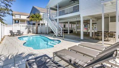 Photo for Luxury Vacation Home, Private Saltwater Pool, Pet Friendly