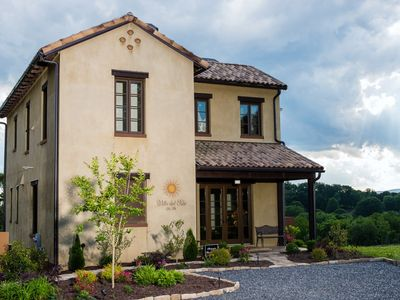 Photo for Villa del Sole, Luxurious Tuscan Inspired Villa In Montaluce Winery & Estates