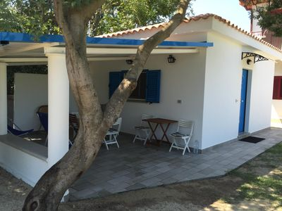 Photo for Beachfront house with private parking and garden near Soverato in Calabria