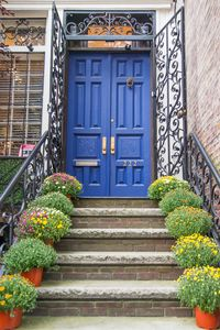36 Feet of FRONT iron gates along 83rd street bring you to the Main Entrance