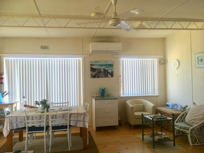 Photo for Cosy Beach house within walking distance of beach, shops, park and tavern.