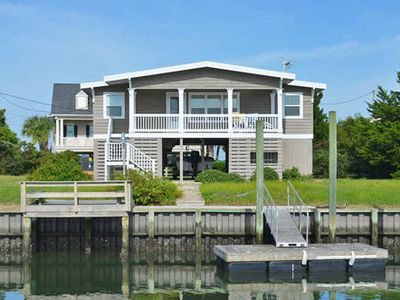 Photo for Pond Beach House - Walk to Beach (Channelfront) in Garden City Beach