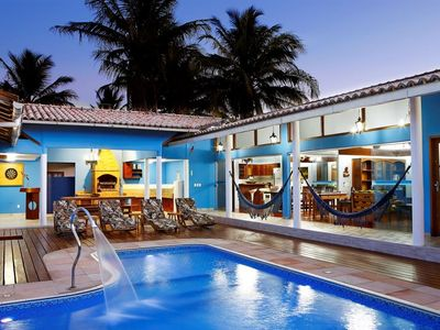 Photo for Beautiful tropical vacation house with swimming pool and BBQ