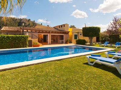 Photo for This 4-bedroom villa for up to 8 guests is located in Puerto Pollensa and has a private swimming poo