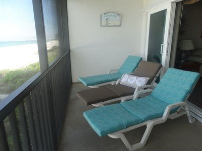 Photo for Beachfront property with heated pool at Sunset Terrace