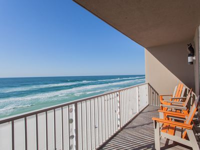 Photo for Close to Pier Park!!  5th Floor!!!  Beach Chair Service Included!! Great Views!!