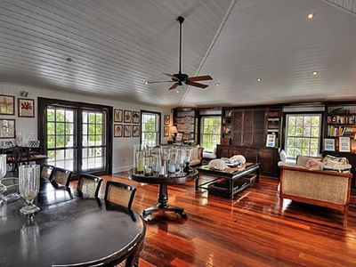 Photo for Private 10-Acre Beachfront Estate w/Heated Pool, Tennis Court, Walk to Tippys