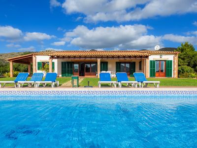 Photo for In Quiet Location with Pool - Villa s´Oliva