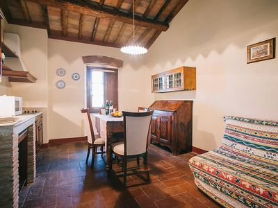 Photo for Apartment in San Gimignano with Parking, Internet, Air conditioning, Pool (126097)