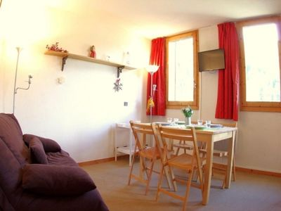 Photo for Apartment Valmorel, studio flat, 5 persons