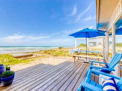 Photo for Dog-friendly oceanfront house with sweeping ocean views!