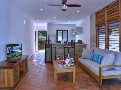 Photo for Sea view apartment 50m from the beach