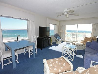 Photo for 2BR / 2BA - Gulf front with beautiful views of the Gulf and pool