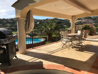 Photo for Villa Sainte-Maxime in a residential area overlooking the golf