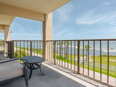 Photo for Pier Pleasure and a PRIVATE Balcony! NEW 1000 ft LIGHTED FISHING PIER!