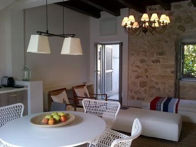Photo for Waterfront old fisherman house renovated to high standards of quality and design
