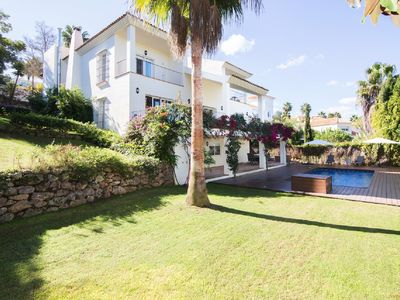 Photo for Fantastic Holiday Home With New Poolside Apartment In Sotogrande