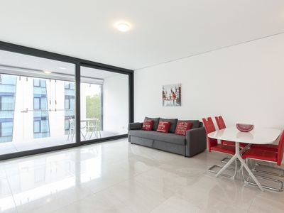 Photo for Spacious two-room apartment 500 meters away from the centre of Lugano - AGORÀ 4D
