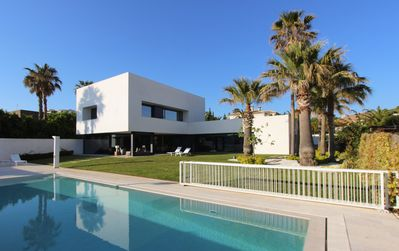Photo for Fantastic designer house close to the beach