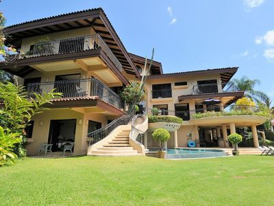Photo for Stunning ocean-view villa above Los Sueños with full-time driver/concierge