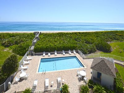 Photo for Updated Third Floor 2-BR Oceanfront Condo With Pool and Ocean Beach View