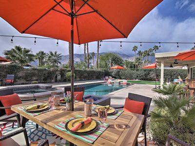 Photo for NEW! Palm Springs Paradise w/Pool & Putting Green!
