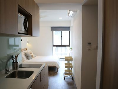 Photo for Cosy Studio Apartment walking distance to MRT Station (blue line)