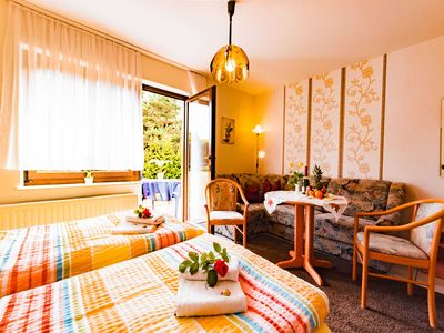 "Photo for Rooms DU / WC-2 - Family-run guesthouse & holiday apartments ""Fischer-Haus"""