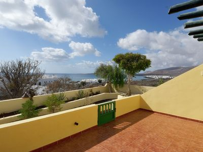 Photo for Comfortable apartment with lovely terrace and stunning sea views