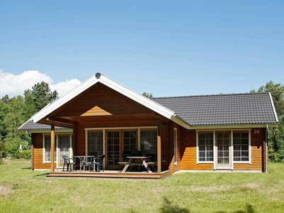 Photo for Gorgeous Holiday Home in Ebeltoft with Whirlpool