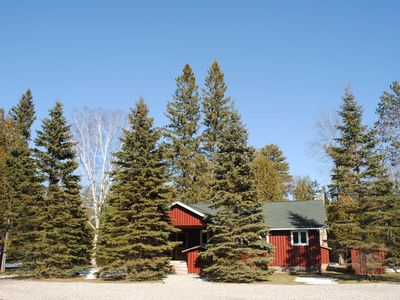 Photo for Private, Up North, family-friendly retreat on AuSable River