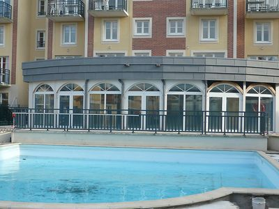 Photo for Apartment in the center of Dives-sur-Mer with Internet, Pool, Lift, Parking (108613)