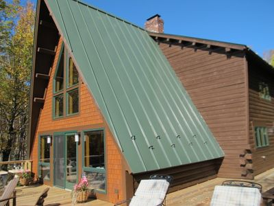 Photo for A Frame home just two miles from downtown Rangeley.