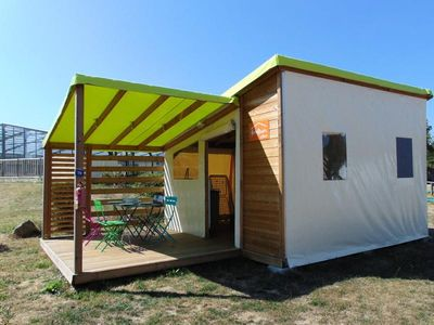 Photo for Camping Beauchêne *** - Fun flower Comfort 3 rooms 4 persons