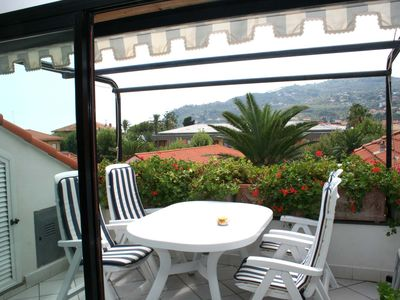 Photo for apartment/ flat - Diano Marina with two terrace