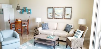 Photo for Newly remodeled , perfect 6th floor oasis! Beach chairs incl.! Come & Relax!!