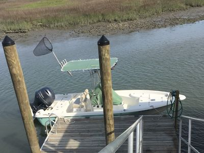 Photo for Creekfront with Dock --Restful and beautiful, time stops here.  Bring Boat