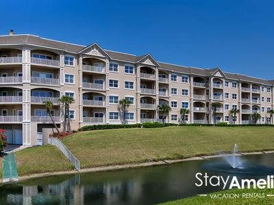 Photo for SPACIOUS 3 BEDROOM / 2 BATH OCEAN VIEW WITH COMMUNITY POOL AND SPA.